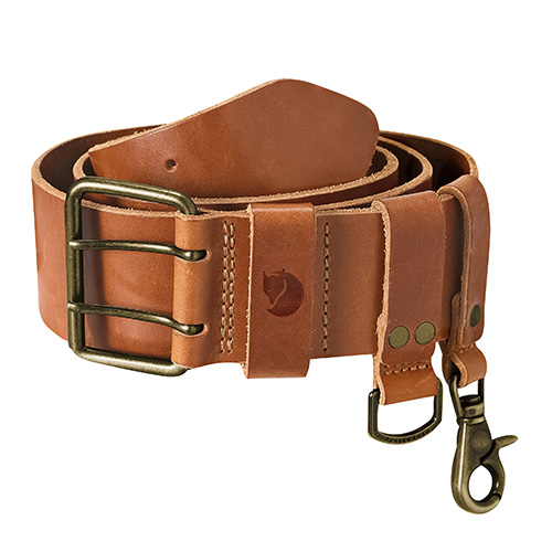 Fjällräven Equipment Belt Leather Cognac | 249 | 85cm