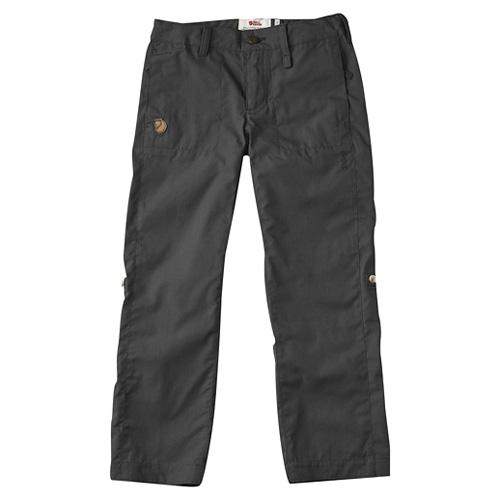 Fjällräven Kids Abisko Shade Trousers Dark Grey   30   146