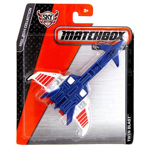 Letadlo Mattel Twin Blast, 11 cm