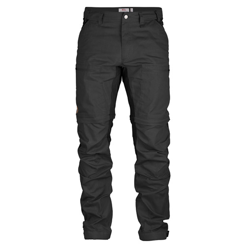 Fjällräven Abisko Lite Trekking Zip-Off Trousers Dark Grey-Black | 030-550 | 56