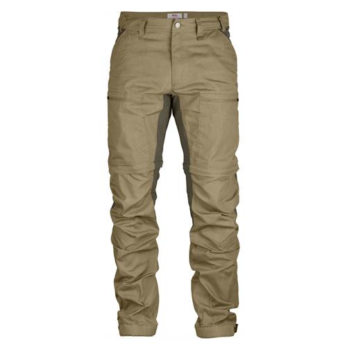 Fjällräven Abisko Lite Trekking Zip-Off Trousers Sand-Tarmac | 220-246 | 44