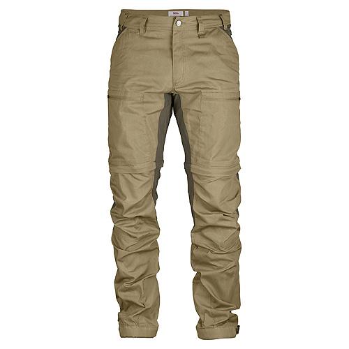 Fjällräven Abisko Lite Trekking Zip-Off Trousers Sand-Tarmac | 220-246 | 54