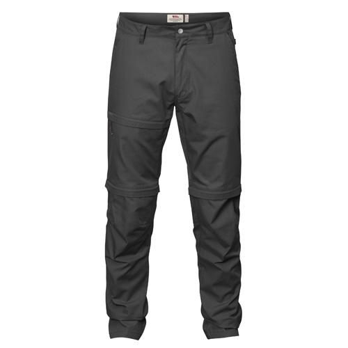 Fjällräven Traveller Zip-Off Trousers Dark Grey | 30 | 54