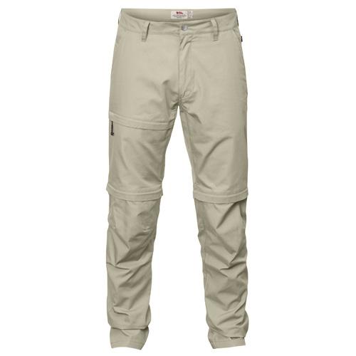 Fjällräven Traveller Zip-Off Trousers Limestone | 217 | 48