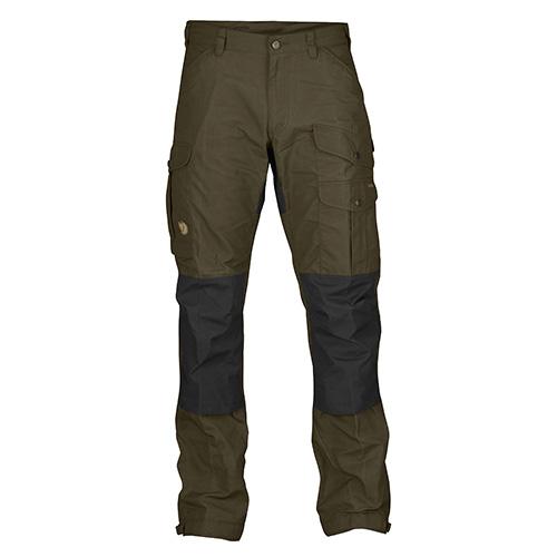Fjällräven Vidda Pro Trousers Long Dark Olive | 633 | 52