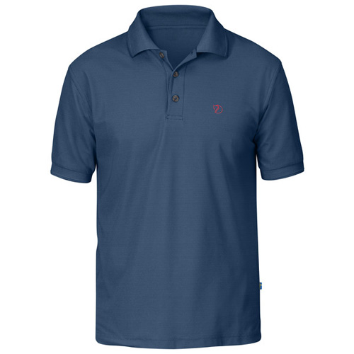 Fjällräven Crowley Pique Shirt Uncle Blue | 520 | M