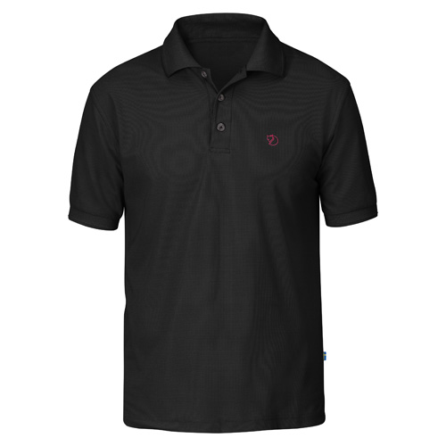 Fjällräven Crowley Pique Shirt Black | 550 | S