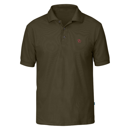 Fjällräven Crowley Pique Shirt Dark Olive | 633 | M