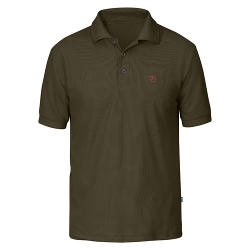 Fjällräven Crowley Pique Shirt Dark Olive | 633 | XL