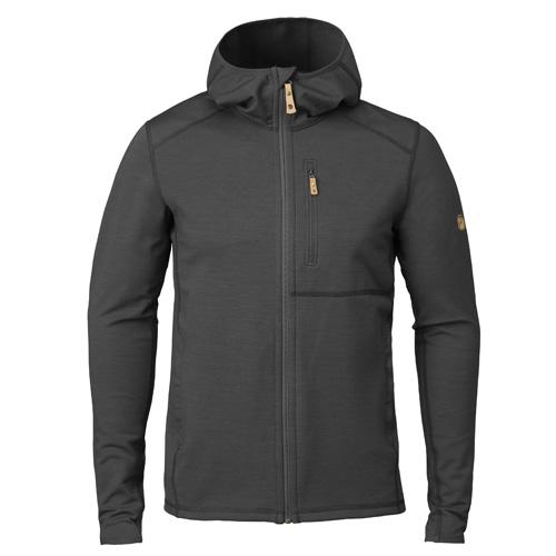 Fjällräven Keb Fleece Hoodie Dark Grey-Black | 030-550 | XL