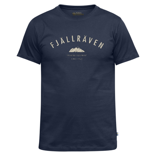 Fjällräven Trekking Equipment T-Shirt Dark Navy | 555 | S
