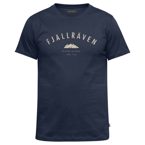 Fjällräven Trekking Equipment T-Shirt Dark Navy | 555 | XXL