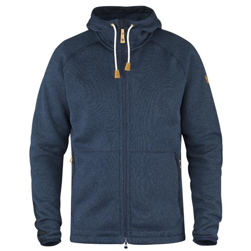 Fjällräven Övik Fleece Hoodie Navy | 560 | XL