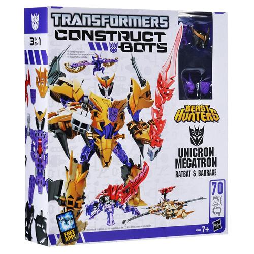 Transformers Hasbro Unicron Megatron 3v1