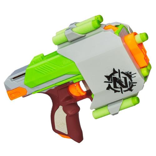 Fotografie Pistole Hasbro Nerf Zombie Sidestrike