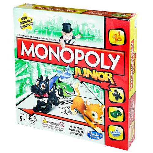 Stolní hra Hasbro Monopoly Junior