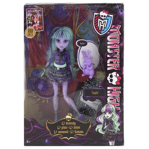 Monster High příšerka Mattel Twyla, 13 přání