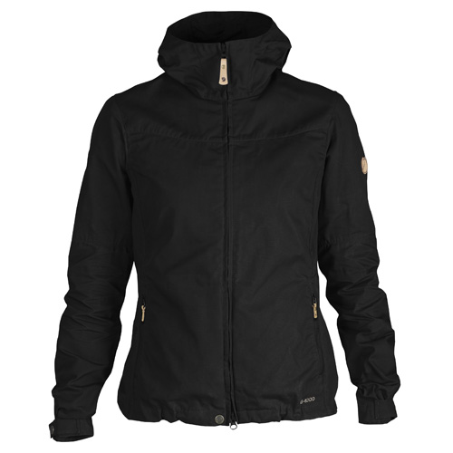 Fjällräven Stina Jacket Black   550   XS