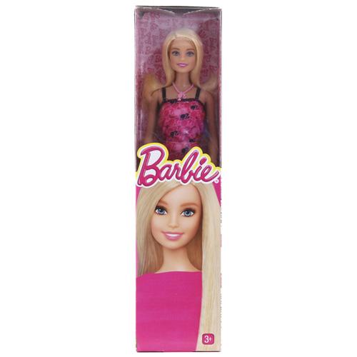 Barbie panenka Mattel V růžových šatech
