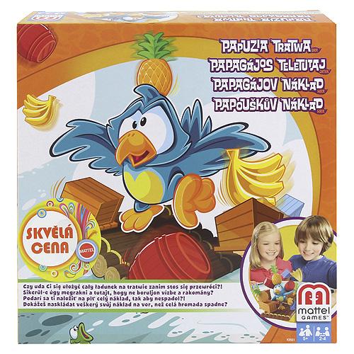 Stolní hra Mattel Papouškův náklad