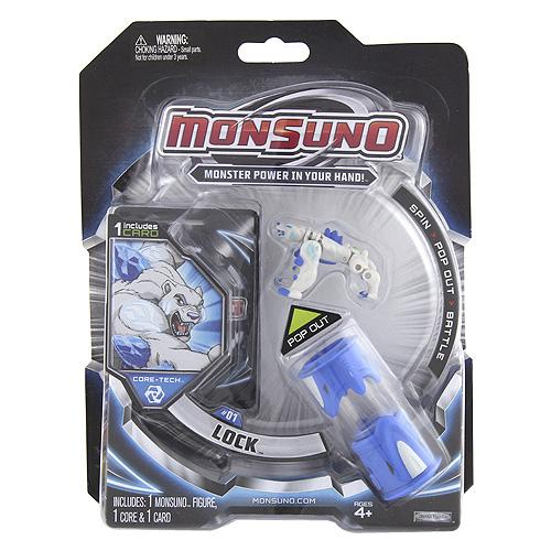 Monsuno zdroj Mattel Lock, modrá