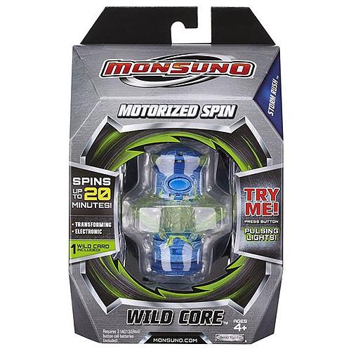 Monsuno zdroj Mattel Wild Core, modrá