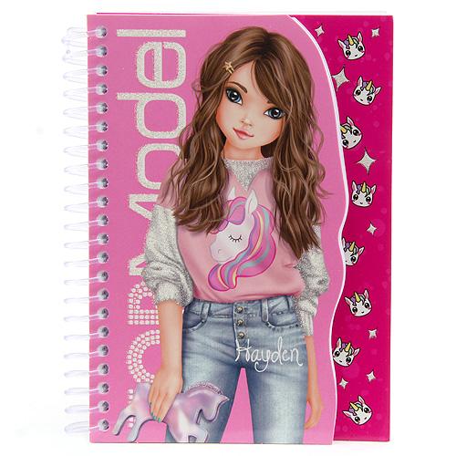 Poznámkový blok Top Model ASST Hayden, růžový