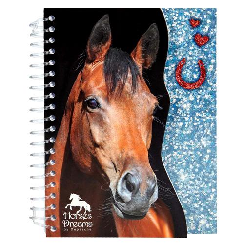Zápisník Horses Dreams ASST Modrý, 70 stran