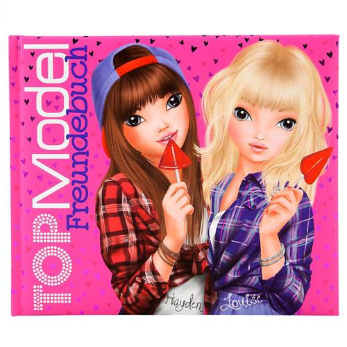 Kniha přátelství Top Model Hayden a Louise, 108 stran
