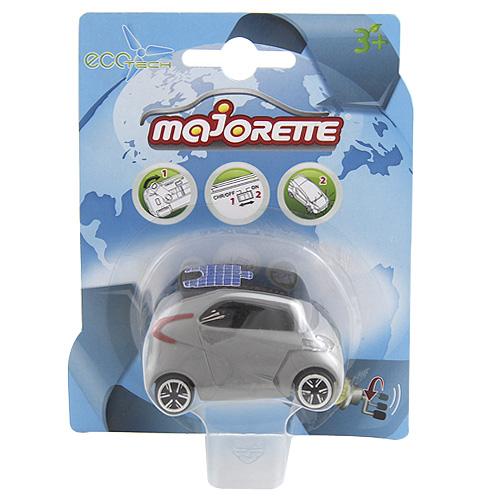 Eco Tech auto Majorette Stříbrné,  7.5 cm