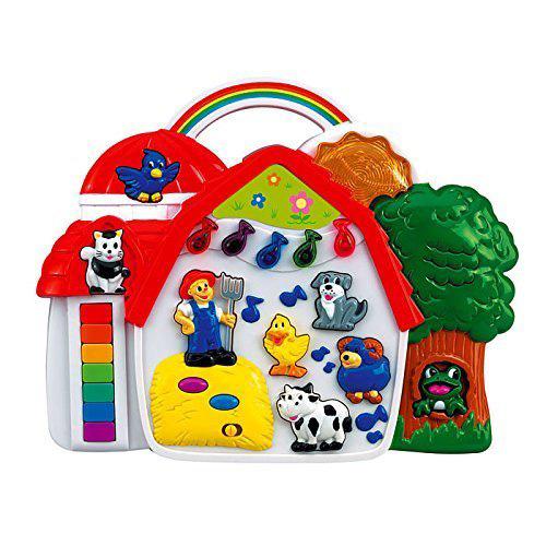 Hudební domeček Simba Zvířátka na farmě