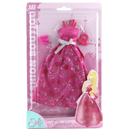 Šaty pro Steffi Simba Romantic World - růžové