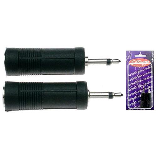 """Konektor Stagg 2 ks - adaptér samice jack 1/4"""""""