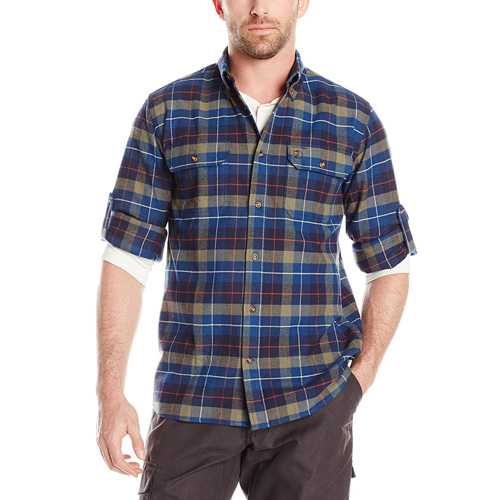 Fjällräven Singi Heavy Flannel Shirt M / Sarek Heavy Flannel Shirt Navy | 560 | M