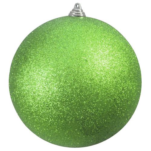 Vánoční ozdoba Europalms Třpytivá zelená/průměr 20 cm