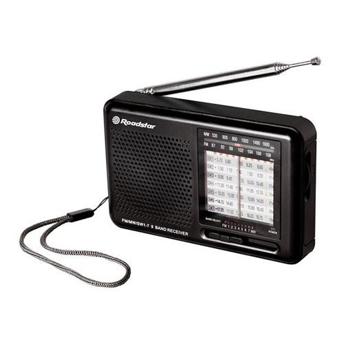 Roadstar TRA-2989 Přenos. radio,AM,FM,SW 1-7