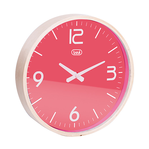 Nástěnné hodiny Trevi OM 3311/ROSA
