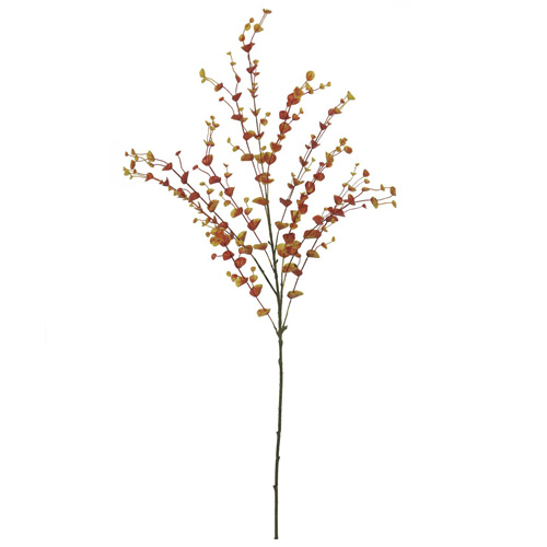 Eukalypt větvička Europalms Výška 110 cm/oranžová