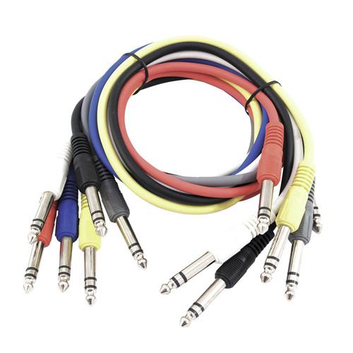 Propojovací kabel Omnitronic Délka 6x 90 cm