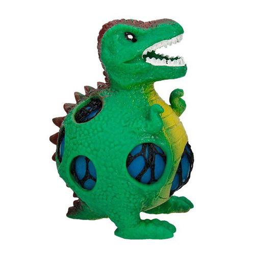 Mačkací figurka Dino World ASST Tyranosaurus, zelený