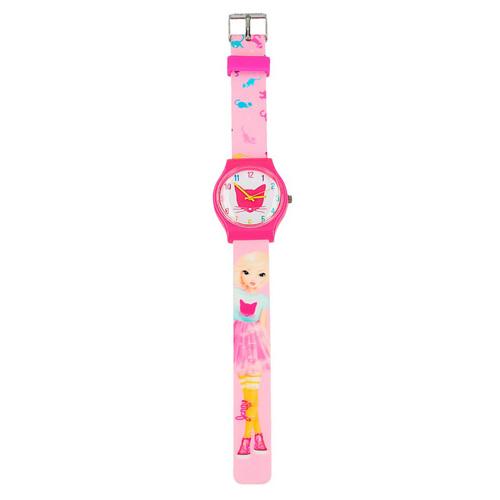 Hodinky Top Model ASST Jenny, silikonový pásek, růžové