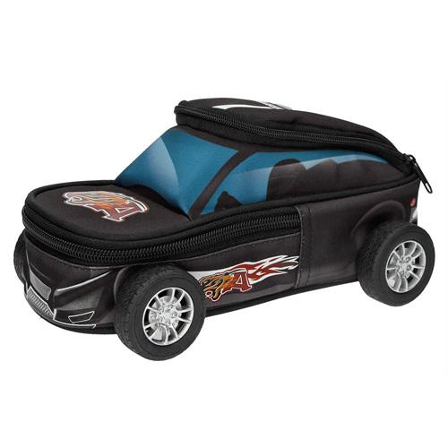 Penál Monster Cars Ve tvaru auta, černý