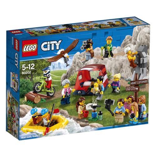 Stavebnice LEGO City Sada postav - dobrodružství v přírodě, 164 dílků