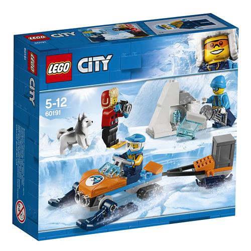 Stavebnice LEGO City Průzkumný polární tým, 70 dílků