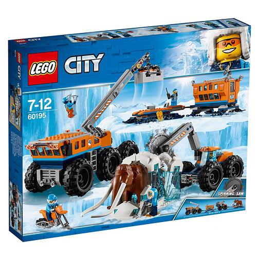 Stavebnice LEGO City Mobilní polární stanice, 786 dílků