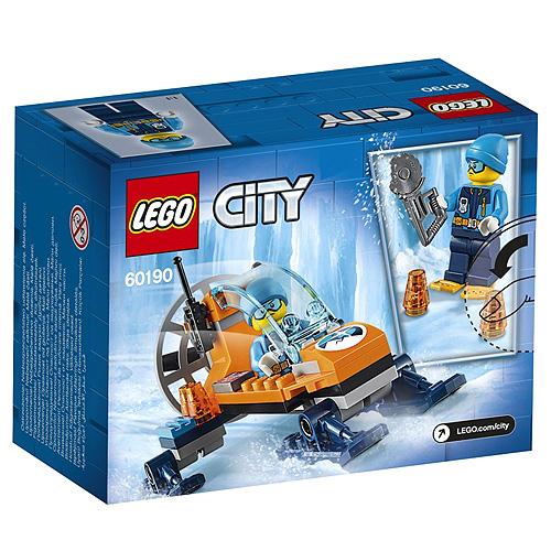 Stavebnice LEGO City Polární sněžný kluzák, 50 dílků