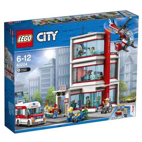 Stavebnice LEGO City Nemocnice, 861 dílků