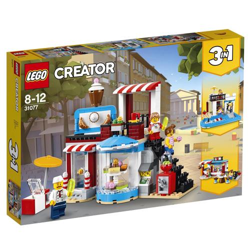 Stavebnice LEGO Creator Cukrárna, 396 dílků