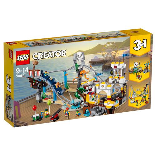 Stavebnice LEGO Creator Pirátská horská dráha, 923 dílků