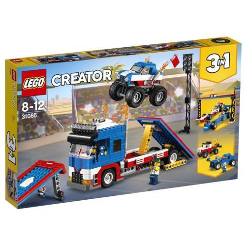 Stavebnice LEGO Creator Mobilní kaskadérské představení, 581 dílků